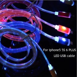 cable cargador para Iphone LED