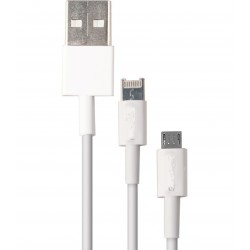 Cable USB Iphone 2in1