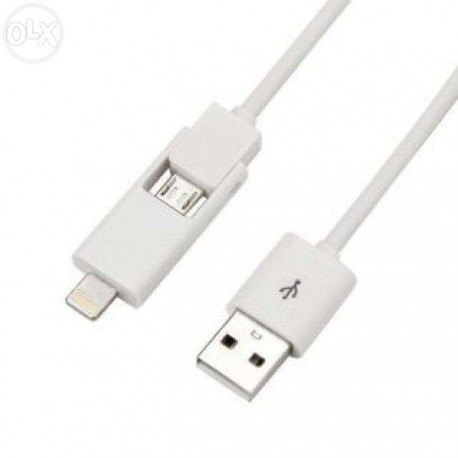 Cable Iphone 2 en 1